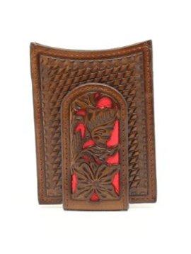 Nocona Belt Co. Men's Nocona Leather Money Clip Wallet N5426504
