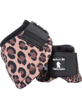 Classic Equine CLASSIC EQUINE DYNO DESIGNER CHEETAH BELL BOOTS