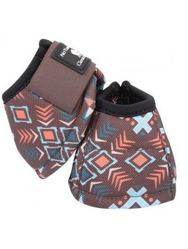 Classic Equine CLASSIC EQUINE DYNO DESIGNER CHOCOLATE TRIBAL BELL BOOTS