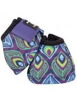 Classic Equine CLASSIC EQUINE DYNO DESIGNER PURPLE PEACOCK BELL BOOTS