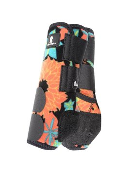 Classic Equine CORAL TROPICS LEGACY SYSTEM FRONT SPLINT BOOTS