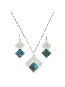 Montana Silversmiths Montana Silversmiths Jewelry Set JS3274TQ