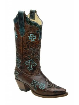 Corral Women's Corral Western Boot R1019 C5 6.5 M