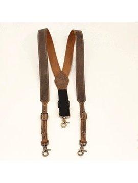 Nocona Belt Co. Men's Nocona Suspenders N8400044