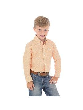 Wrangler Boy's Wrangler 20X Advanced Comfort Button Down Competition Shirt BJC113M
