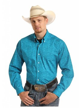 Panhandle Men's Tuf Cooper Button Down Shirt TCD6315