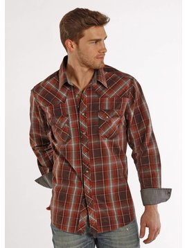 ROCK&ROLL COWBOY Men's Rock & Roll Cowboy Shirt B2S8424