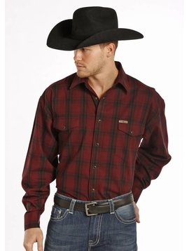 POWDER RIVER OUTFITTERS Men's Powder River Snap Front Shirt 36S8882