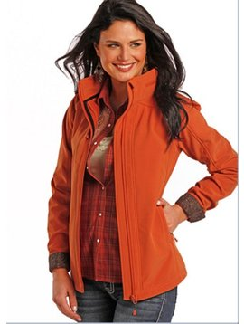 POWDER RIVER OUTFITTERS Women's Powder River Softshell Jacket 52-9646 X-Large