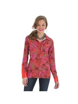 Wrangler Women's Wrangler Snap Front Shirt LWQ832M