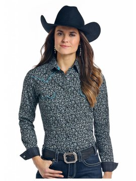 Panhandle Women's Rough Stock Snap Front Shirt R4S7598