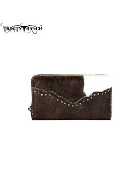 Montana West Women's Trinity Ranch Hair-On Wallet TR62-W003 CF