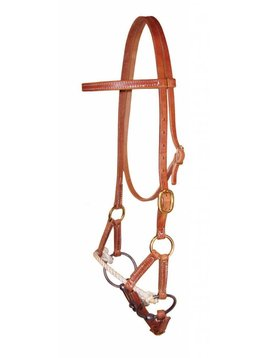 Berlin Custom Leather LTD Single Rope Side Pull with Snaffle