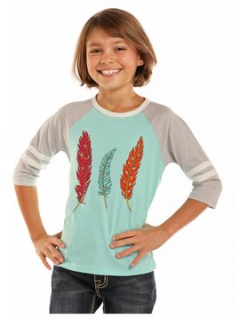 Rock and Roll Cowgirl Girl's Rock & Roll Cowgirl T-Shirt G4T7641