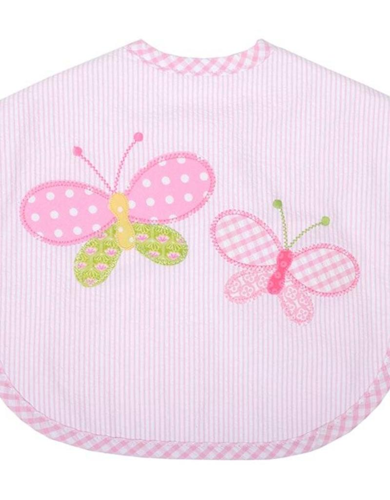 Three Marthas Bib Toddler Butterfly