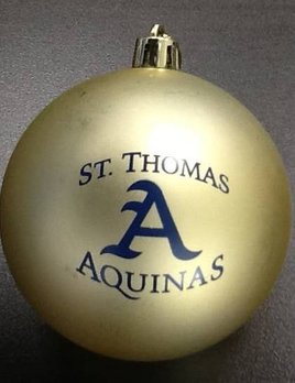 "Catchy Grafixs ""A"" ornament"
