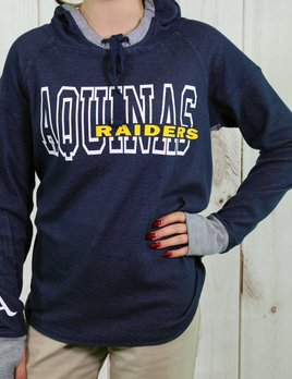 Catchy Grafixs Women's Navy Grey Hoodies