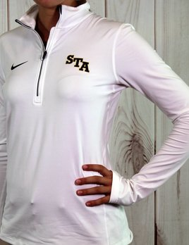 Nike Women's White Nike 1/4 Zip