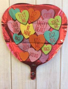Balloon - Sweet Tart Heart