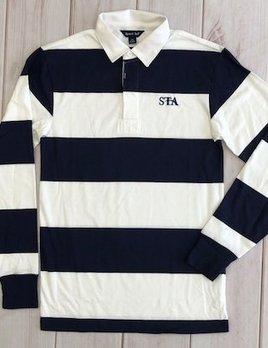 Uniform Long Sleeve Striped Shirt