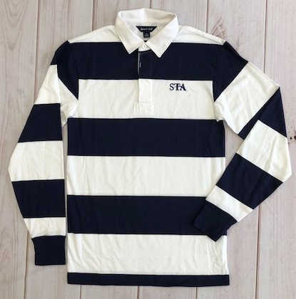 Uniform Long Sleeve Striped Shirt