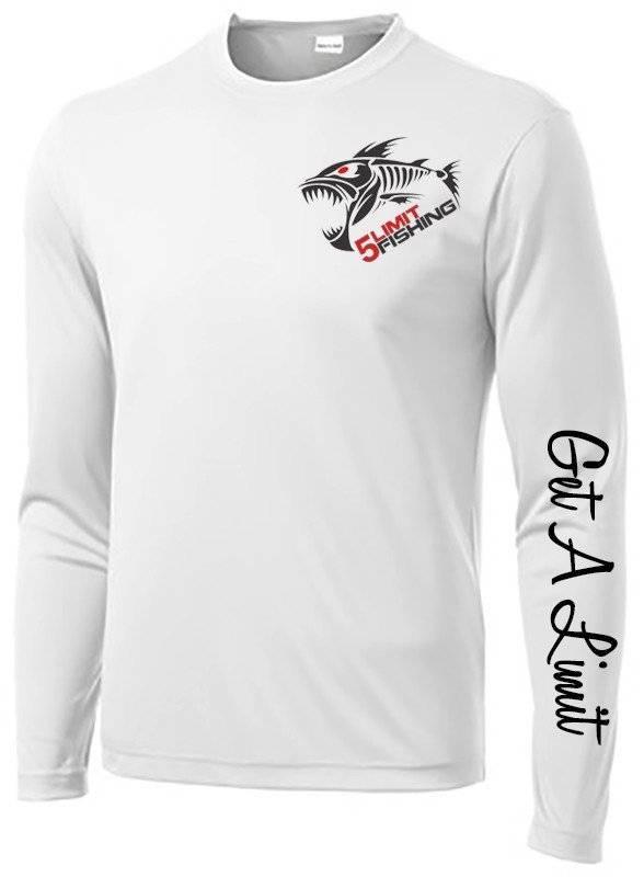 5Limit Fishing Tournament Performance Shirt w/ small logo