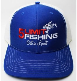 5Limit Fishing 5Limit Fishing Logo Snapback Hat