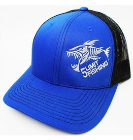 5Limit Fishing 5Limit fishing fish logo snapback hat