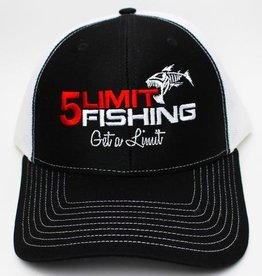 5Limit Fishing Fish logo flexfit hat