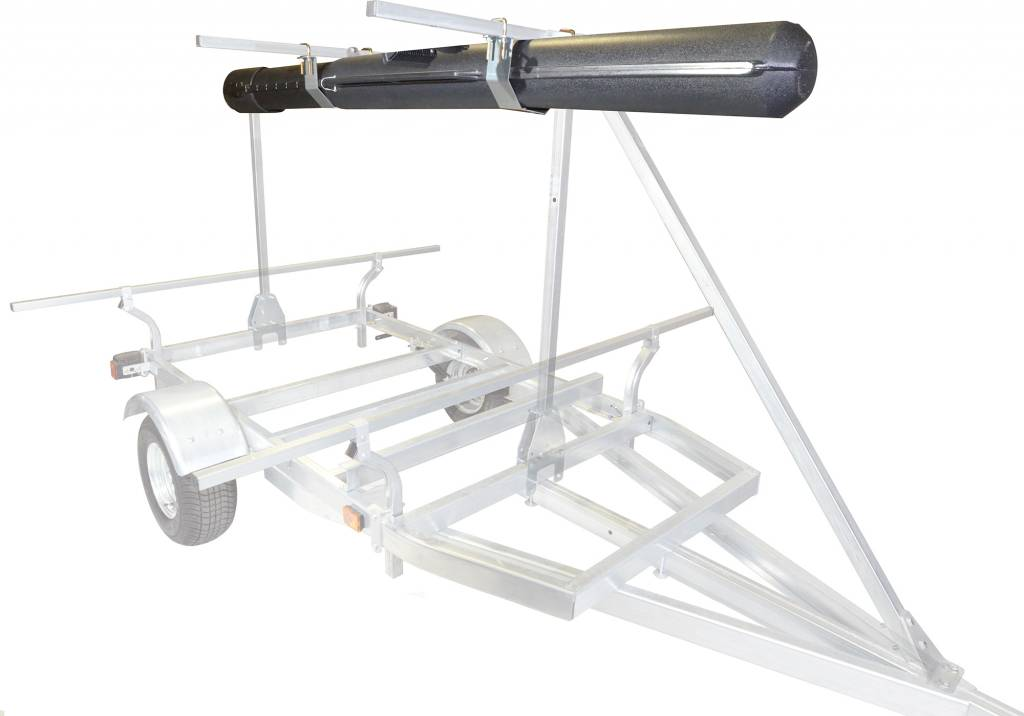 MegaSport Fishing Rod Storage Tube w/Mounting Hrdwr