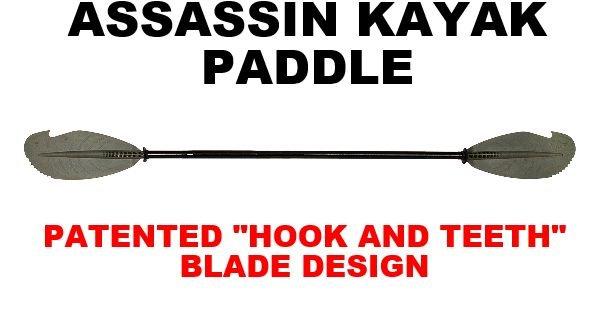 BACKWATER PADDLES Assassin paddle
