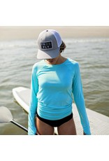 Free Fly Wave Snapback- navy
