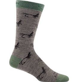 Darn Tough Socks Lifestyle McFly Crew Taupe Medium