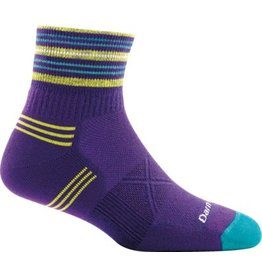 Darn Tough Socks Coolmax W's Vertex 1/4 Ultra-Light Cushion Purple Medium