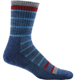 Darn Tough Socks Hike/Trek Via Ferrata Jr. Micro Crew Light Cushion Blue Large