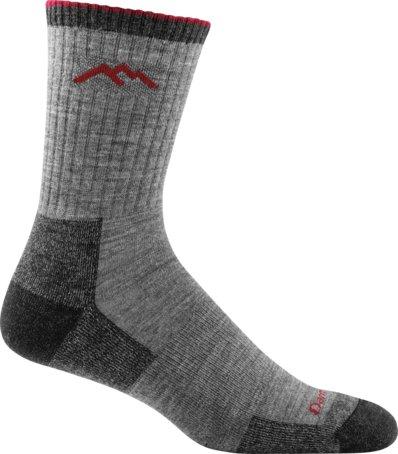 Darn Tough Socks Hiker Micro Crew Sock Cushion Charcoal Medium