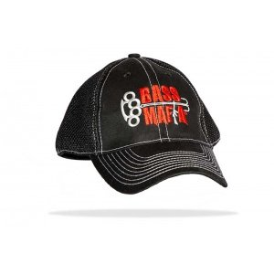 "Bass Mafia ""The Elite"" fitted Bass Mafia logo hat Black"