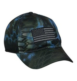 Neptune Camo American Flag Hat
