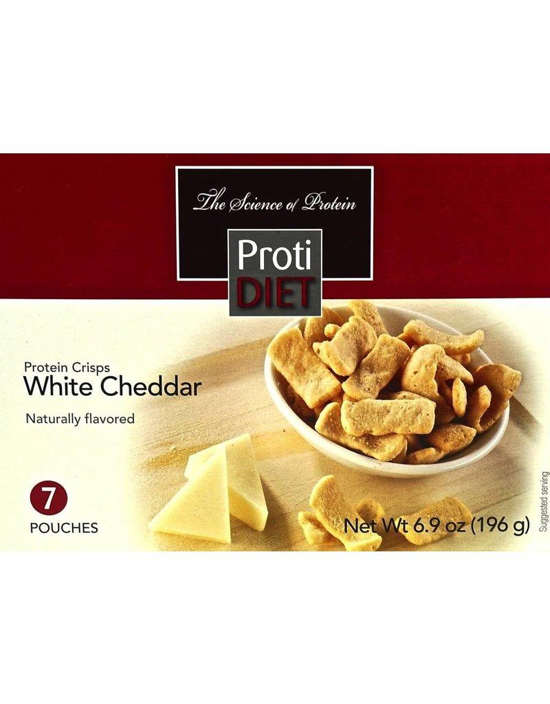 ProtiDiet White Cheddar Protein Crisps