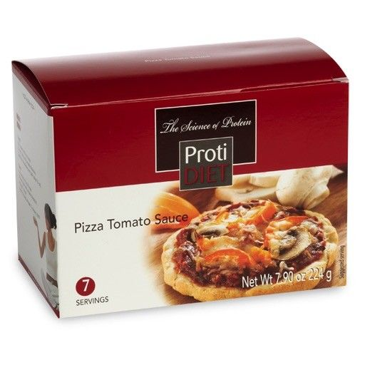ProtiDiet Pizza with Tomato Sauce