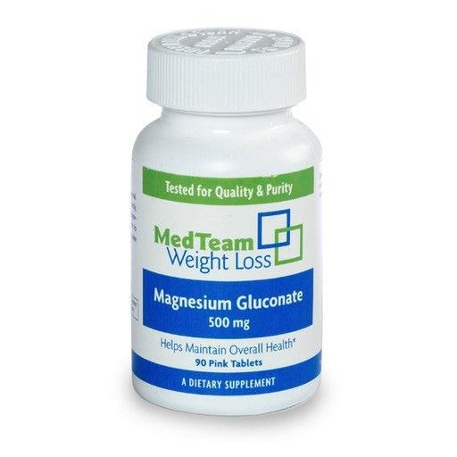 MedTeam MTWL Magnesium 500MG (90 Tablets)