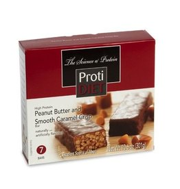 ProtiDiet Peanut Butter Smooth Caramel Crisp Bar