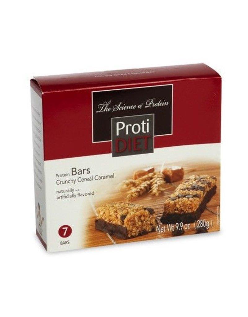 ProtiDiet Crunchy Cereal Caramel Bar