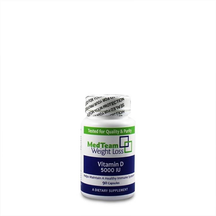 MedTeam MTWL Vitamin D 5000 (90 Cnt)