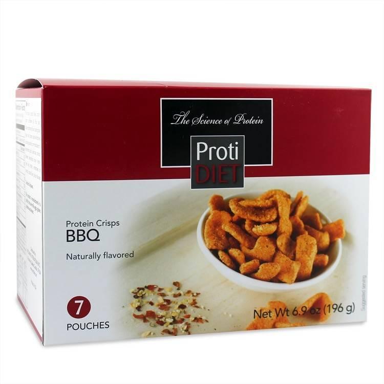 ProtiDiet BBQ Protein Crisps