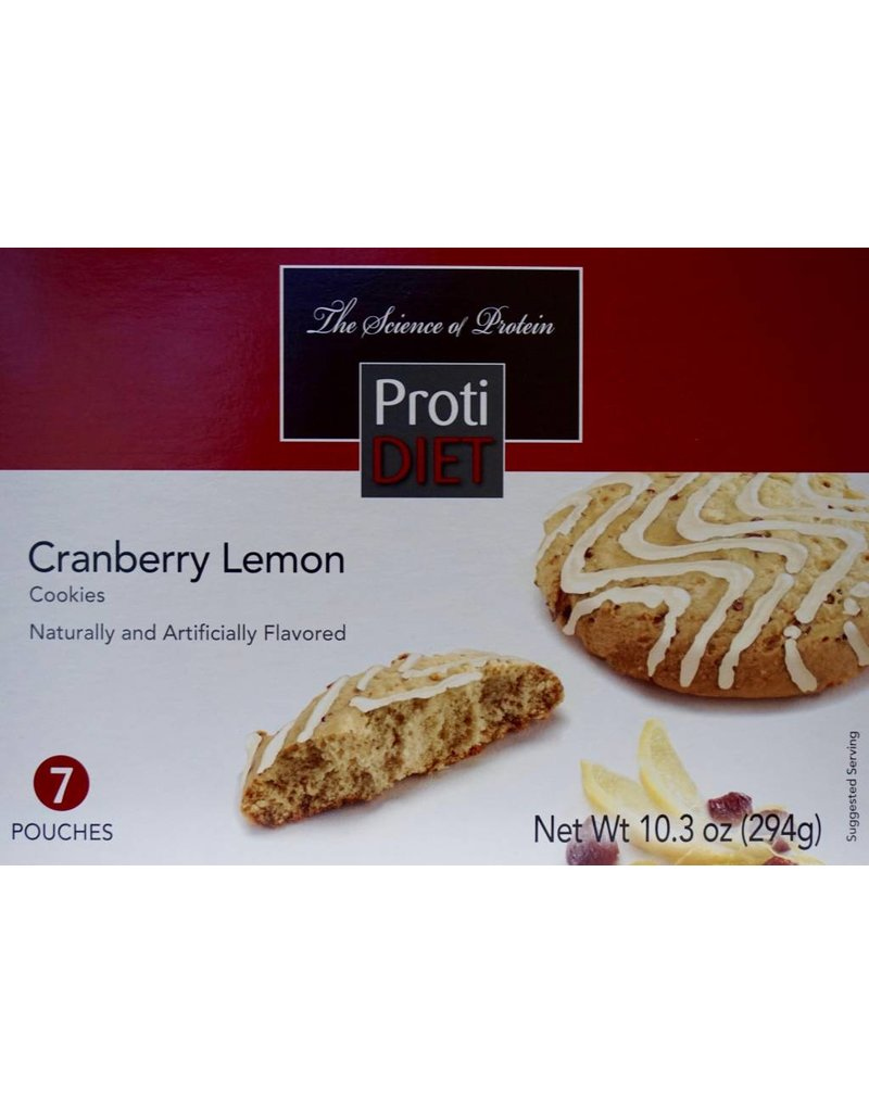 ProtiDiet Proti Cranberry Lemon Cookie
