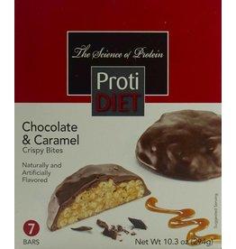 ProtiDiet Chocolate & Caramel Crispy Bites