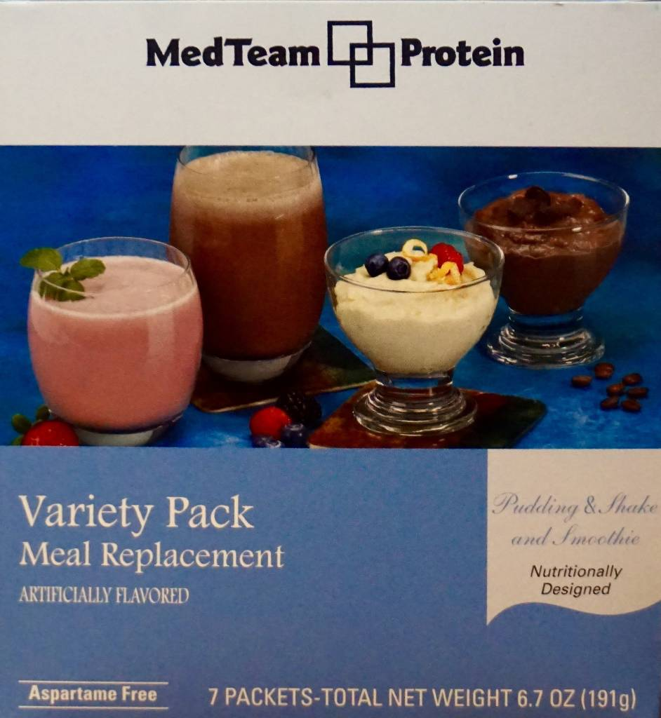MedTeam MR Variety Pudding/Shake & Smoothie Mixes