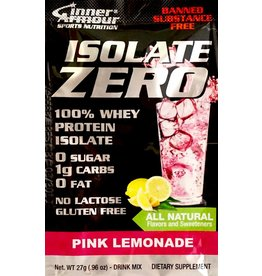 Inner Armour Isolate Zero Pink Lemonade Drink Mix