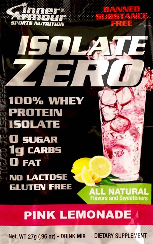 Inner Armour Isolate Zero Pink Lemonade Drink Mix
